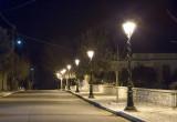 Νυχτερινή άποψη απο τους δρόμους του χωριού