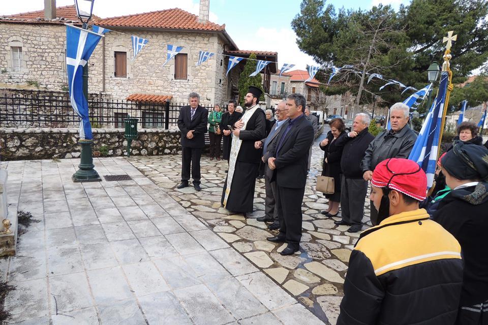 Από τον εορτασμό της 25ης Μαρτίου στο χωριό μας